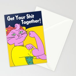 Princess Carolyn - Get Your S*** Together Stationery Cards