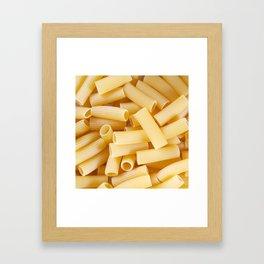 Rigatoni Framed Art Print