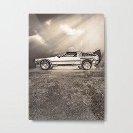1985 Time Machine Metal Print