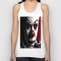 pennywise Tank Tops featuring Pennywise by Alycia Plank