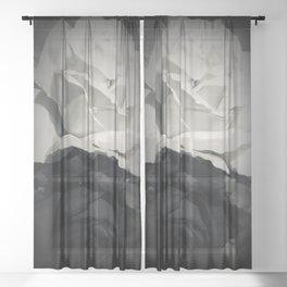 Floral Ying & Yang Sheer Curtain