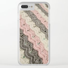 Textures IV Clear iPhone Case