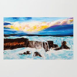 Stormy Sea Rug