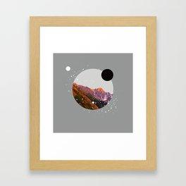Mount Salsa Framed Art Print
