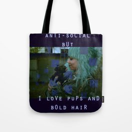 Pups and Bold Hair Tote Bag