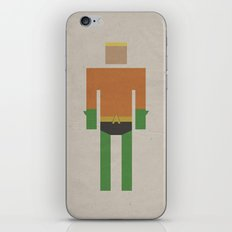 Retro Aquaman iPhone & iPod Skin