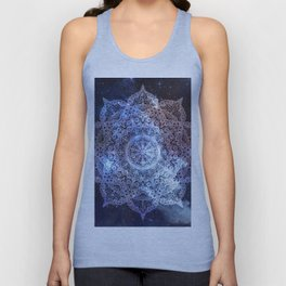 Dreamer Nebula Mandala Unisex Tank Top
