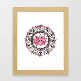 Lotus beauty Framed Art Print