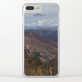 Land of the free. Clear iPhone Case