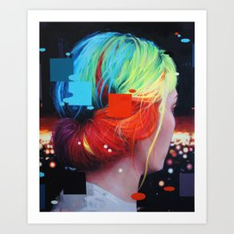 We dissolve Art Print