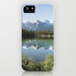 Reflections in Jasper National Park iPhone Case