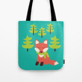 Forest Fox Tote Bag