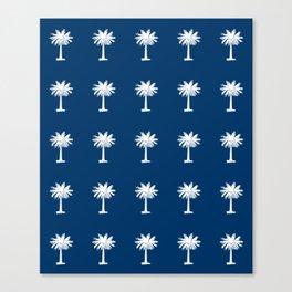 Palmetto 2-palms,drupe,sabal,swamp,cabbage,abanico,drupa,palmera Canvas Print