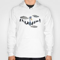 "pixar Hoodies featuring For ""The Birds"" by Robert Scheribel"