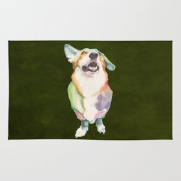 Welsh Corgi Rug