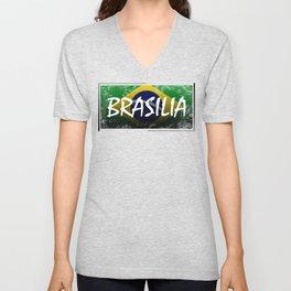 Brasilia Unisex V-Neck