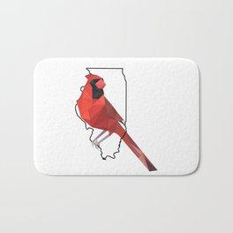 Illinois – Northern Cardinal Bath Mat