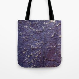 Antique shabby vintage purple creased paper Tote Bag