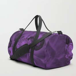 Flowers in the dark Duffle Bag
