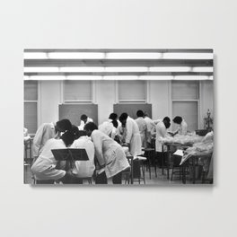 Human Anatomy Lab, University of Chicago , 1976 Metal Print