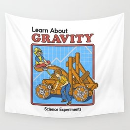 LEARN ABOUT GRAVITY Wall Tapestry