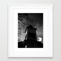 dark tower Framed Art Prints featuring Dark Tower by Camrachiq