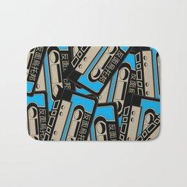 Vintage Cassettes Bath Mat