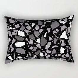 Terrazzo Spot Black 2 Rectangular Pillow