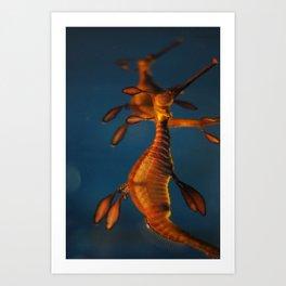 Barcelona Aquarium X Art Print