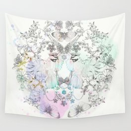 Fly away with me by Luca Johnson Wall Tapestry