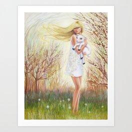Field of Peace Art Print
