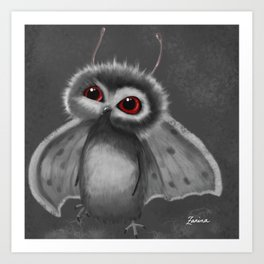 Mothbaby Art Print