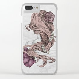 Feminity Clear iPhone Case