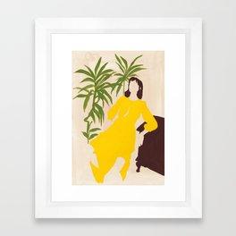 Citrine Dream Framed Art Print