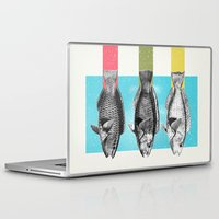 fish Laptop & iPad Skins featuring Fish by Danny Ivan