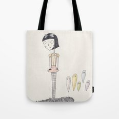 ghost candy. Tote Bag