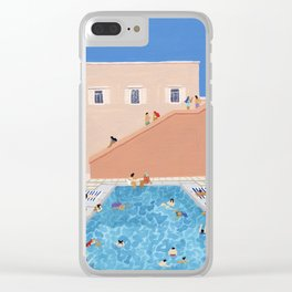 Gathering Clear iPhone Case