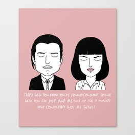 V and M Canvas Print