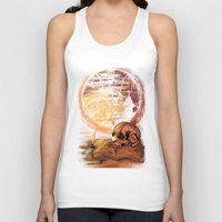 philosophy Tank Tops featuring Philosophy by Cycoblast Artwork