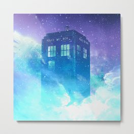 BBC Doctor Who Tardis Metal Print