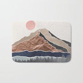 Mount Hood Oregon - Daylight Wilderness Bath Mat