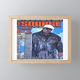 The source cover number 70 The Notorious B.I.G. Framed Mini Art Print