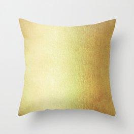 Simply 24K Gold Throw Pillow