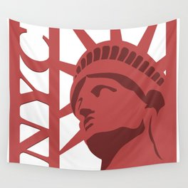NYC Statue of Liberty Wall Tapestry