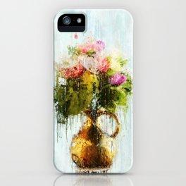 Goodmorning Flowers iPhone Case