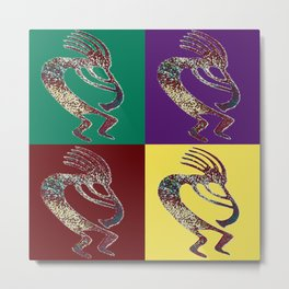 The Quartet Metal Print