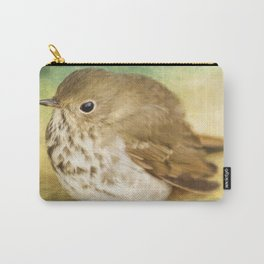 Patiently Waiting - Bird Art Carry-All Pouch