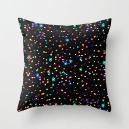 Splatter Intensified Throw Pillow