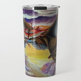 Cloudjumper, Dragon, Fanart Travel Mug