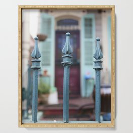 French Quarter Gate Serving Tray
